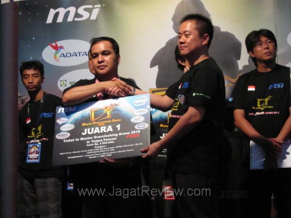 Inilah Juara Msi Moa 2010 Region Indonesia Jagat Review