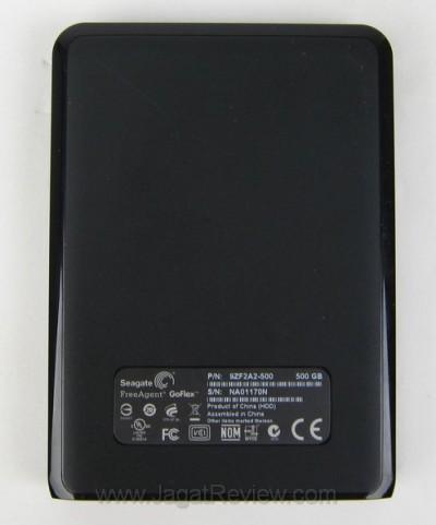 Seagate FreeAgent GoFlex 500GB belakang