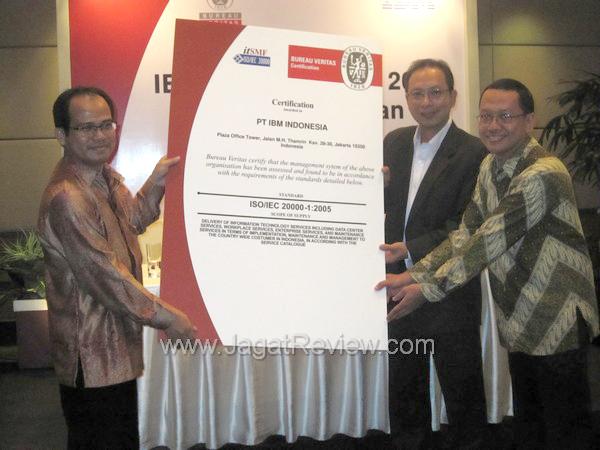 ibm indonesia raih sertifikasi iso 20000 jagat review. Black Bedroom Furniture Sets. Home Design Ideas