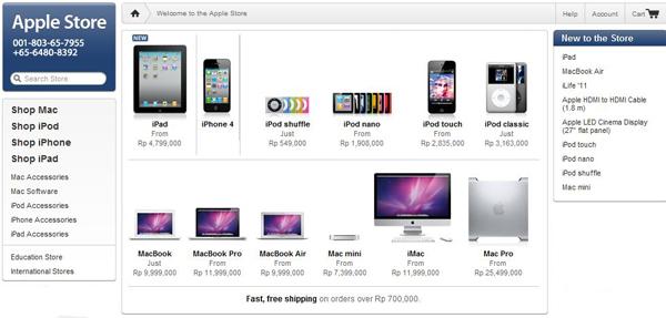 iPad dan iPod Generasi Terbaru Sudah Hadir di Apple Store Indonesia
