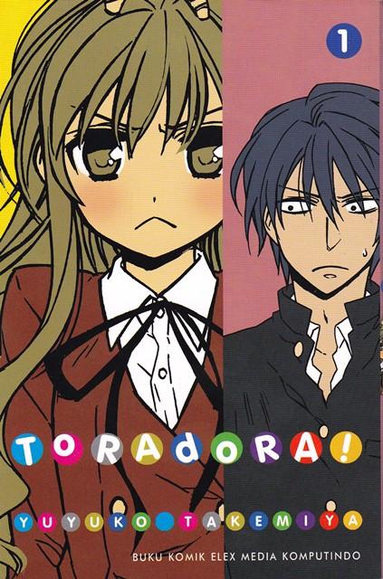Toradora! Hadir dalam Bentuk Komik!