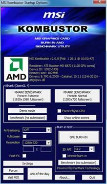 PR] MSI Releases Afterburner V2 1 0 Graphic Card