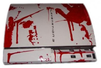 playstation in blood