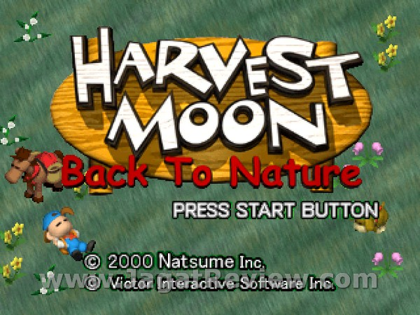 Harvest Moon BTN 1