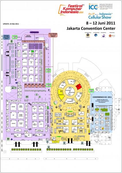 Floorplan Festival Komputer Indonesia Dan Indonesia