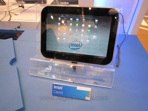 Penampakan Tablet dengan Prosesor Intel