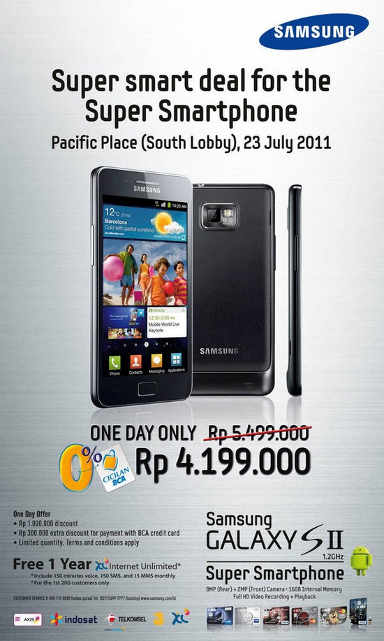 promo smartphone samsung galaxy s2 jagat review. Black Bedroom Furniture Sets. Home Design Ideas