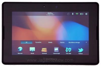 BlackBerry PlayBook dikapalkan sebanyak 500.000 unit pada kuartal ini