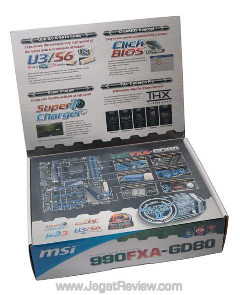 Review MSI 990FXA-GD80: Board AMD AM3+ Kelas Atas dengan