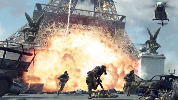 modern warfare 3 eiffel tower