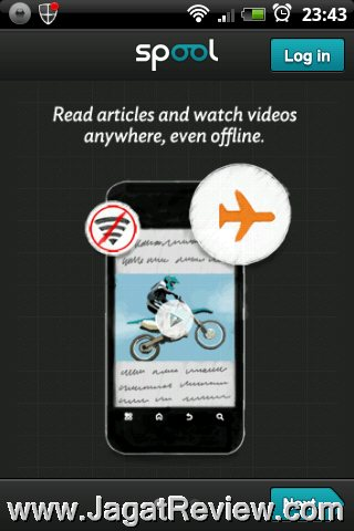Review Android Apps – Spool: Membaca Konten Website dan
