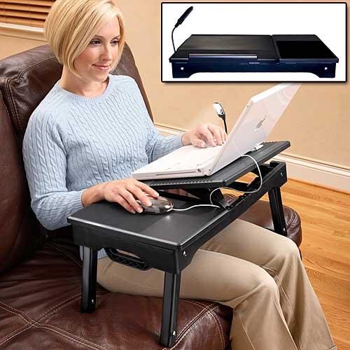Стол для ноутбука в кровать