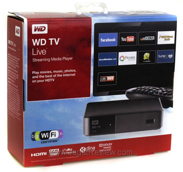 how to watch tv on wd live