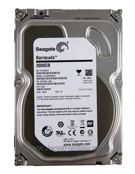 Review Seagate Barracuda 3TB Hard Disk Kencang Dengan