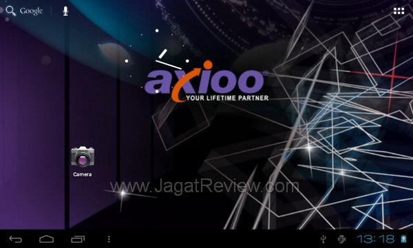 Axioo PicoPad 7 - Homescreen Utama