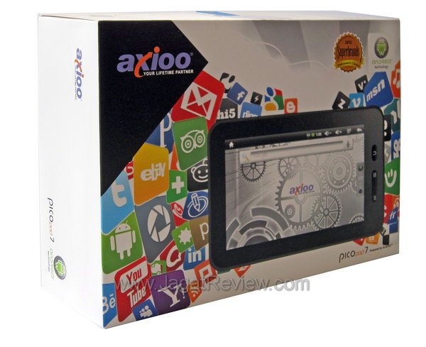 Axioo PicoPad 7 - Kemasan