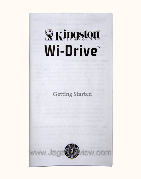 Kingston Wi Drive - Dokumentasi
