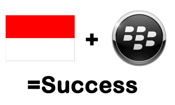 BlackBErry-Indonesia-success