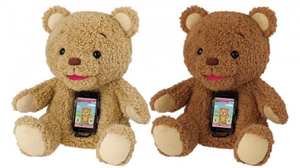 Boneka beruang yang diberi nama Cocolo Bear ini bekerja dengan menggunakan  Smartphone Android (2.2 ke atas) atau iOs (4.3 ke atas). 805ff1742a