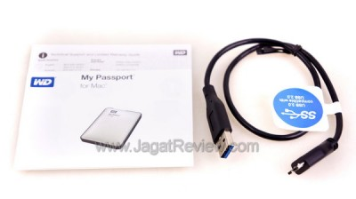 Kabel USB 3.0 dan Dokumentasi