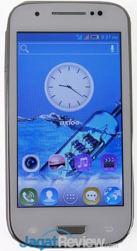 Axioo Picopad 4 - Handset Depan