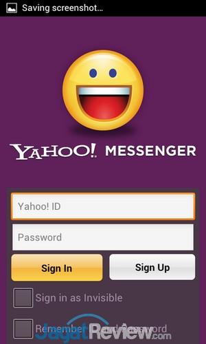 Axioo Picopad 4 - app yahoo messenger