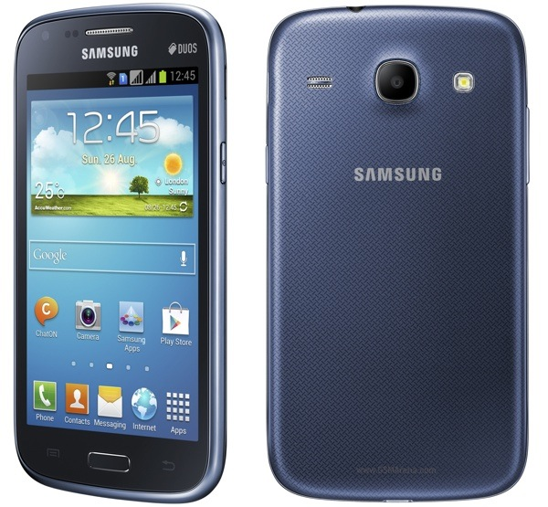 samsung launches galaxy core with dual sim support. Black Bedroom Furniture Sets. Home Design Ideas