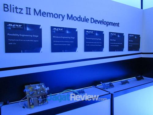 Proses pengembangan RAM seri Blitz II yang saat ini masih baru mencapai tahap beta.