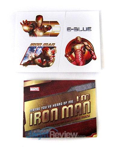 E-Blue Iron Man Mouse - Dokumentasi