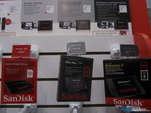 Terakhir, untuk SSD, SanDisk memiliki SanDisk SSD, SanDisk Ultra Plus, dan SanDisk Extreme II.