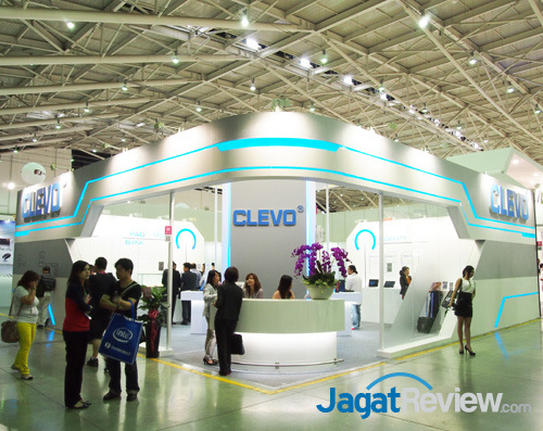 clevo booth