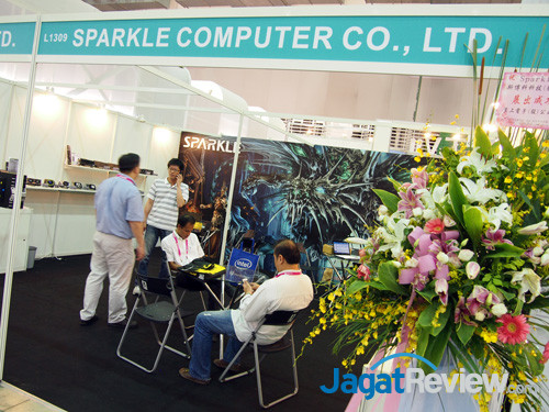 sparkle booth