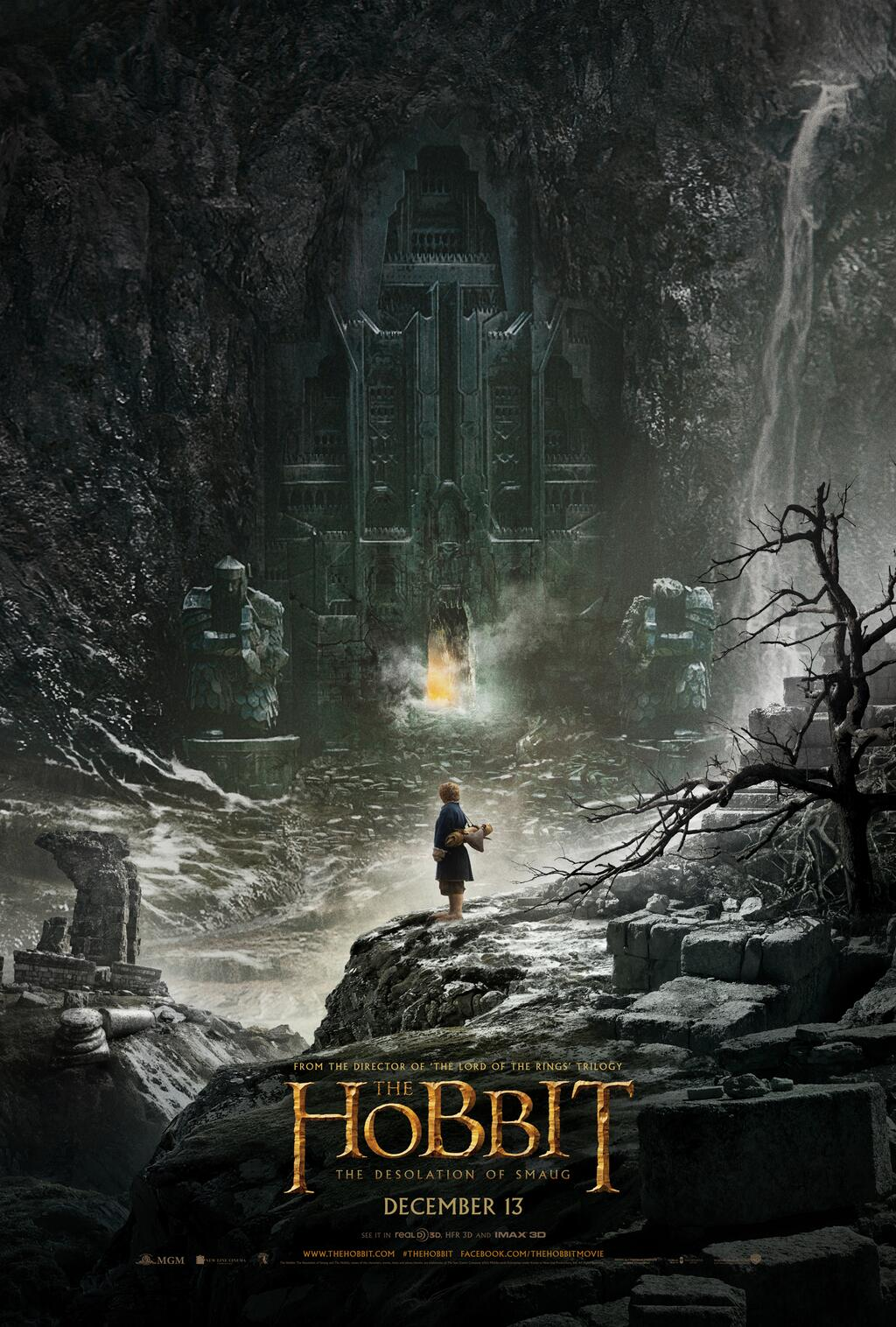 Penampakan Poster Pertama The Hobbit: The Desolation of Smaug