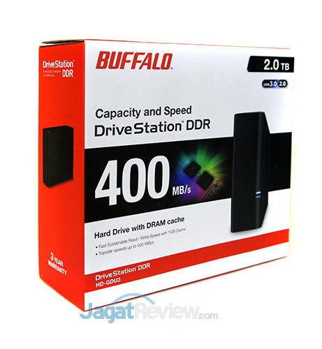 Buffalo Drivestation DDR - Kemasan