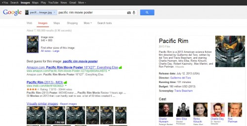 google images - search by image 3