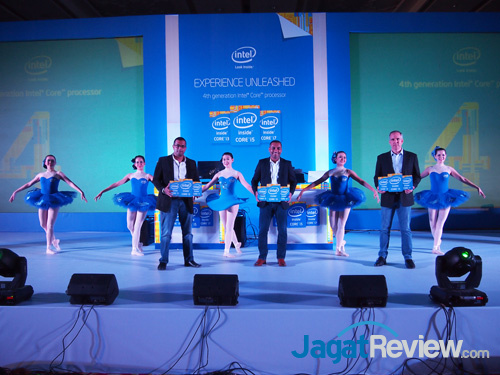 intel haswell indo launch group pose