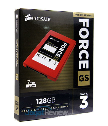 Tes Perbandingan SSD - Kemasan Corsair