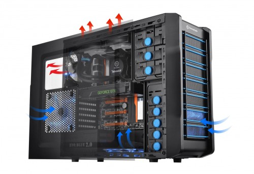 Thermaltake Chaser A21 gaming case with greater spacious interior