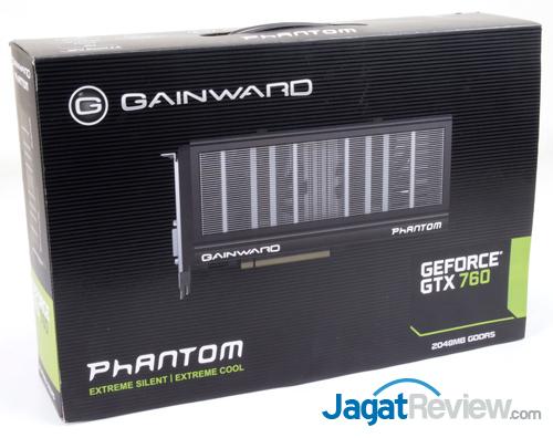 gainward gtx 760 phantom front box