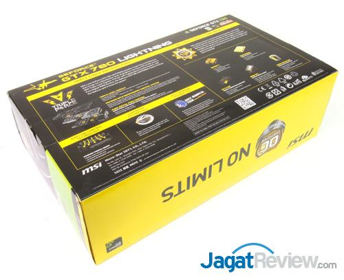 msi gtx 780 lightning back box