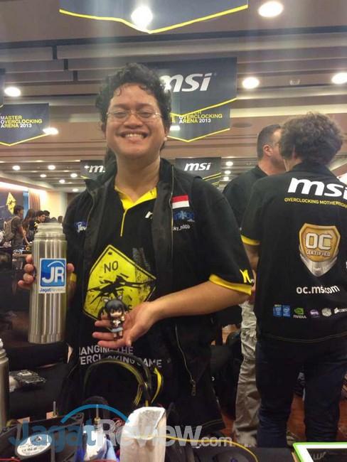 Alva membawa pulang gelar juara 2 ke Indonesia!