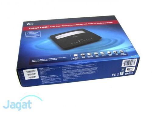 Linksys X3500 Modem Router - Box (9)