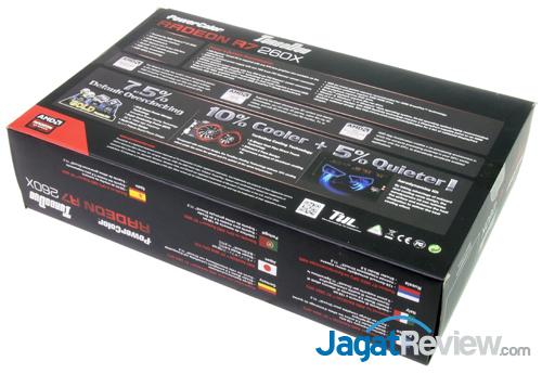 powercolor r7 260x turboduo oc back box