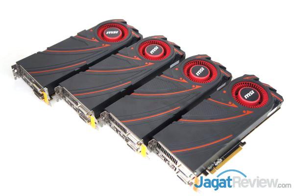 Hands-on: 4-way Crossfire MSI AMD Radeon R9 290X   Jagat Review