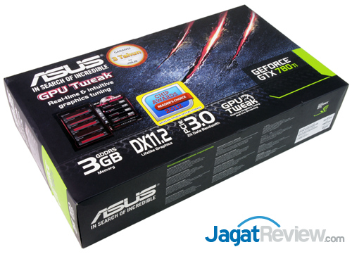 asus nvidia geforce gtx 780 ti front box