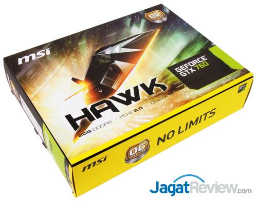 msi gtx 760 hawk front box