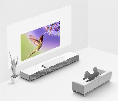 sony 4k projector. proyektor ini emiliki dimensi 110 x 26.5 53.5 cm dan menggunakan panel sxrd dengan resolusi 4096 2160 piksel, serta memiliki kecerahan 2000 lumens. sony 4k projector p