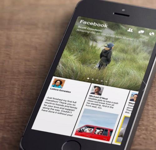 Facebook Luncurkan Aplikasi 'Paper'