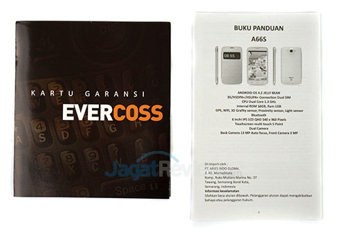 Evercoss A66s - Dokumentasi