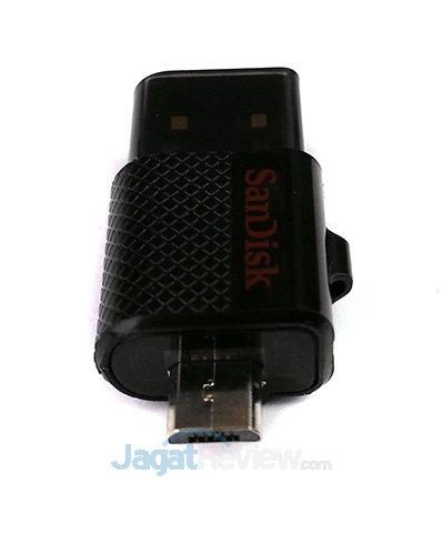 Sandisk Ultra Dual USB Drive 16 GB - microUSB